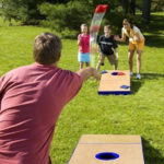 Bean Bag Toss at Picnic in the Park