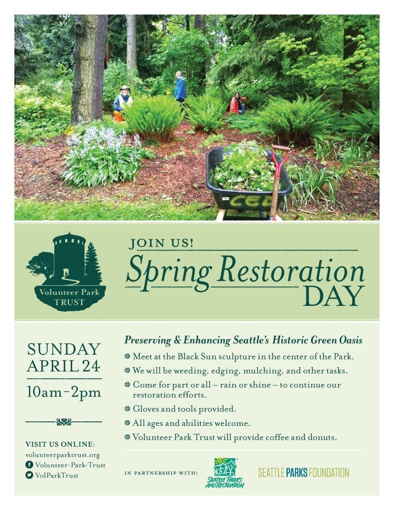 Poster for Spring Restoration Day