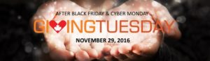 Giving Tuesday Nov 29th