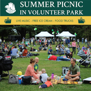 Summer Picnic in Volunteer Park!